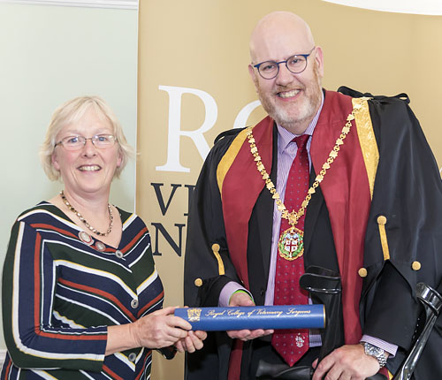 RCVS Recognition For Long-Serving Deborah